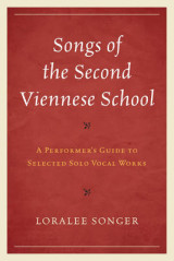 Omslag - Songs of the Second Viennese School