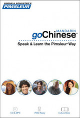 Omslag - Pimsleur Gochinese (Mandarin) Course - Level 1 Lessons 1-8 CD: Lessons Level 1