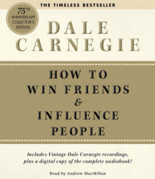 How to Win Friends and Influence People av Dale Carnegie (Lydbok-CD)