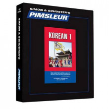 Pimsleur Korean Level 1 CD av Pimsleur (Lydbok-CD)