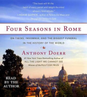 Four Seasons in Rome av Anthony Doerr (Lydbok-CD)