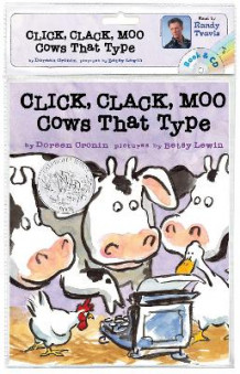 Click, Clack, Moo: Cows That Type Book and CD av Doreen Cronin (Lydbok-CD)