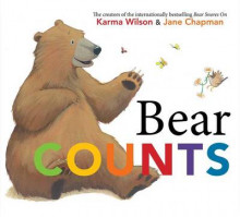 Bear Counts av Karma Wilson (Innbundet)