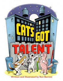 Cats Got Talent av Ron Barrett (Innbundet)