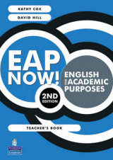 Omslag - EAP Now! English for Academic Purposes Teachers Book