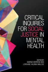 Omslag - Critical Inquiries for Social Justice in Mental Health