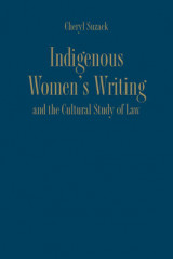 Omslag - Indigenous Women's Writing and the Cultural Study of Law