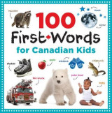 Omslag - 100 First Words for Canadian Kids