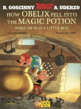 Omslag - How Obelix Fell into the Magic Potion