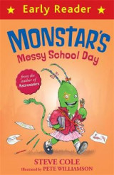 Omslag - Monstar's Messy School Day