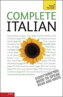 Complete Italian (Learn Italian with Teach Yourself) av Lydia Vellaccio og Maurice Elston (Heftet)