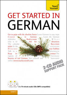 Teach Yourself Get Started in German: Audio Support av Rosi McNab (Lydbok-CD)
