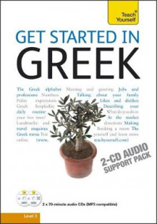 Get Started in Beginner's Greek: Teach Yourself: Audio Support av Aristarhos Matsukas (Lydbok-CD)