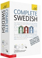 Omslag - Complete Swedish Beginner to Intermediate Book and Audio Course