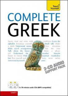 Complete Greek Beginner to Intermediate Course: Audio Support av Aristarhos Matsukas (Lydbok-CD)
