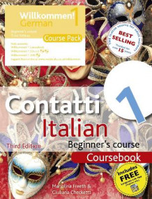 Contatti 1 Italian Beginner's Course: Course Pack (Blandet mediaprodukt)