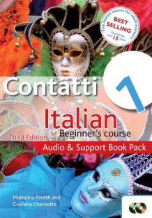Contatti 1 Italian Beginner's Course: Audio and Support Book Pack: Audio and Support Book Pack av Mariolina Freeth og Giuliana Checketts (Blandet mediaprodukt)