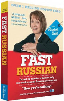 Fast Russian with Elisabeth Smith (Coursebook): Coursebook av Elisabeth Smith (Blandet mediaprodukt)