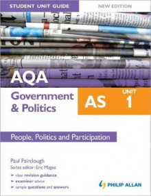 AQA AS Government & Politics Student Unit Guide New Edition: Unit 1 People, Politics and Participation av Paul E. Fairclough (Heftet)