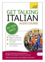 Omslag - Get Talking Italian in Ten Days Beginner Audio Course