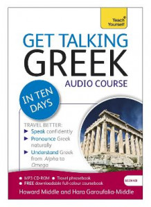 Get Talking Greek in Ten Days Beginner Audio Course av Hara Garoufalia-Middle og Howard Middle (Lydbok-CD)