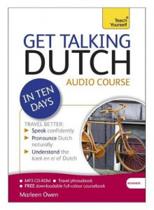 Get Talking Dutch in Ten Days Beginner Audio Course av Marleen Owen (Lydbok-CD)