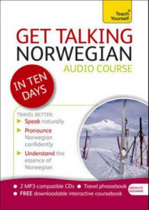 Get talking Norwegian in ten days! av Margaretha Danbolt Simons (Innbundet)