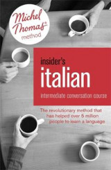 Omslag - Insider's Italian: Intermediate Conversation Course (Learn Italian with the Michel Thomas Method)