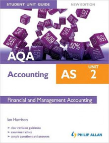AQA AS Accounting Student Unit Guide New Edition: Unit 2 Financial and Management Accounting av Ian Harrison (Heftet)