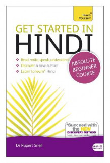 Get Started in Hindi Absolute Beginner Course av Rupert Snell (Blandet mediaprodukt)