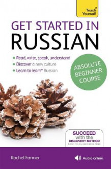 Get Started in Russian Absolute Beginner Course av Rachel Farmer (Blandet mediaprodukt)