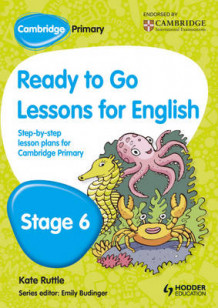 Cambridge Primary Ready to Go Lessons for English Stage 6 av Kay Hiatt (Heftet)