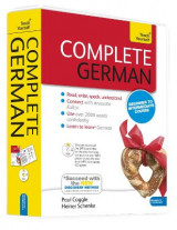 Omslag - Complete German Beginner to Intermediate Book and Audio Course