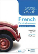 Omslag - Cambridge IGCSE (R) and International Certificate French Foreign Language Teacher Resource & Audio-CDs