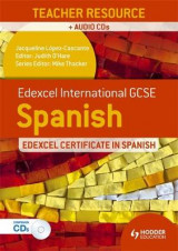 Omslag - Edexcel International GCSE and Certificate Spanish Teacher Resource and Audio-CDs