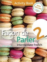 Facon De Parler 2 Activity Book: Activity Book av Angela Aries og Dominique Debney (Heftet)