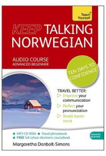 Keep Talking Norwegian Audio Course - Ten Days to Confidence av Margaretha Danbolt-Simons (Lydbok-CD)