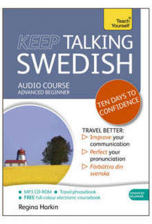 Keep Talking Swedish - Ten Days to Confidence av Regina Harkin (Lydbok-CD)
