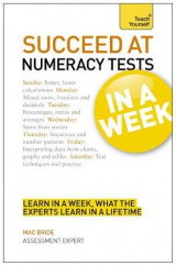 Omslag - Succeed at Numeracy Tests in A Week: Teach Yourself