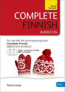 Complete Finnish Beginner to Intermediate Course: Audio Support av Terttu Leney (Lydbok-CD)