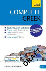 Omslag - Complete Greek Beginner to Intermediate Book and Audio Course