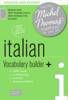 Italian Vocabulary Builder+ (Learn Italian with the Michel Thomas Method) av Paola Tite (Lydbok-CD)