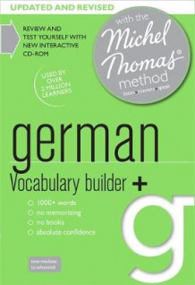 German Vocabulary Builder+ (Learn German with the Michel Thomas Method) av Marion O'Dowd (Lydbok-CD)