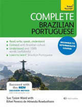 Omslag - Complete Brazilian Portuguese Beginner to Intermediate Book and Audio Course: Beginner to intermediate course