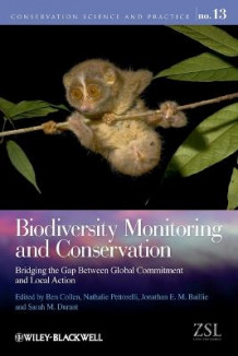 Biodiversity Monitoring and Conservation (Heftet)