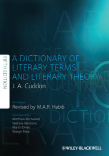 Dictionary of Literary Terms and Literary Theory av J. A. Cuddon og M. A. R. Habib (Innbundet)