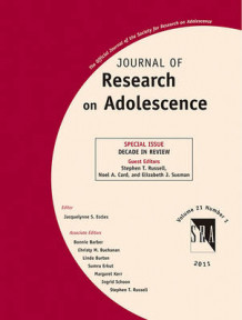 Journal of Research on Adolescence (Heftet)