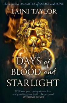 Days of blood and starlight av Laini Taylor (Heftet)