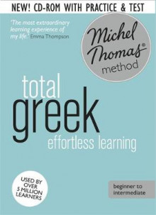 Total Greek Foundation Course: Learn Greek with the Michel Thomas Method av Hara Garoufalia-Middle og Howard Middle (Lydbok-CD)