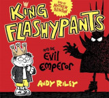Omslag - King Flashypants and the Evil Emperor